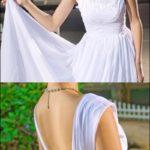 Brautkleid mit Trägern WD390