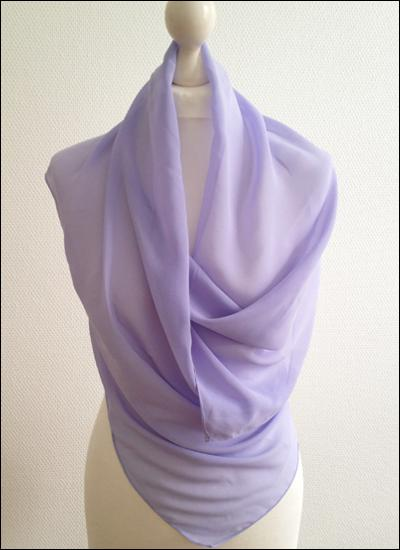 Chiffonstola Lavendel STO230