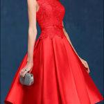 60er Jahre Vintage Brautkleid mit Spitze-775