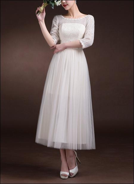 60er Jahre Brautkleid WD480