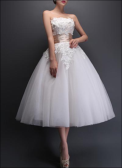 Vintage Brautkleid WD760