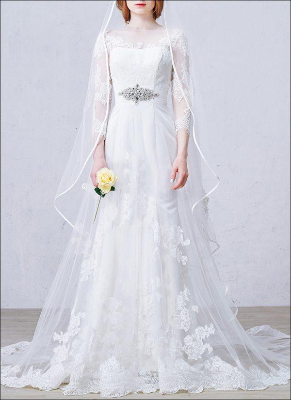Meerjungfrau Brautkleid WD950