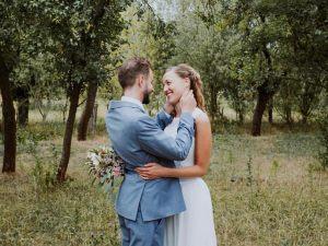 """""""Wir hatten eine traumhafte Hochzeit und ich hatte das Kleid meiner Träume an"""""""