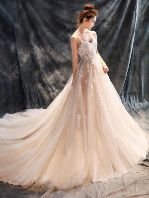 Prinzessin Brautkleid it Trägern