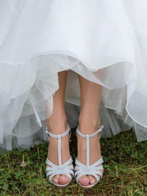 Sommerliche Brautschuhe
