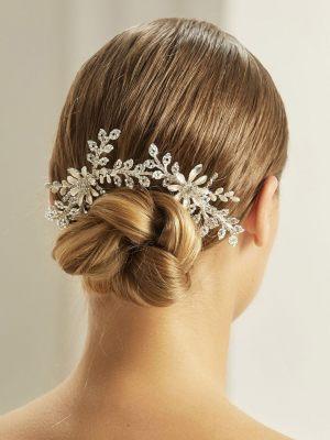 Haarschmuck für die Brautfrisur