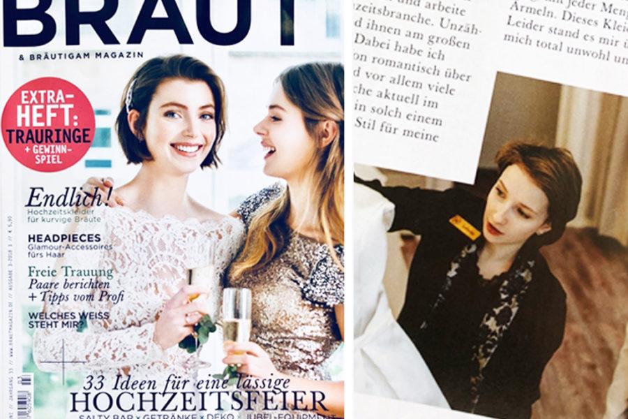 LAFANTA im Braut & Bräutigam Magazin