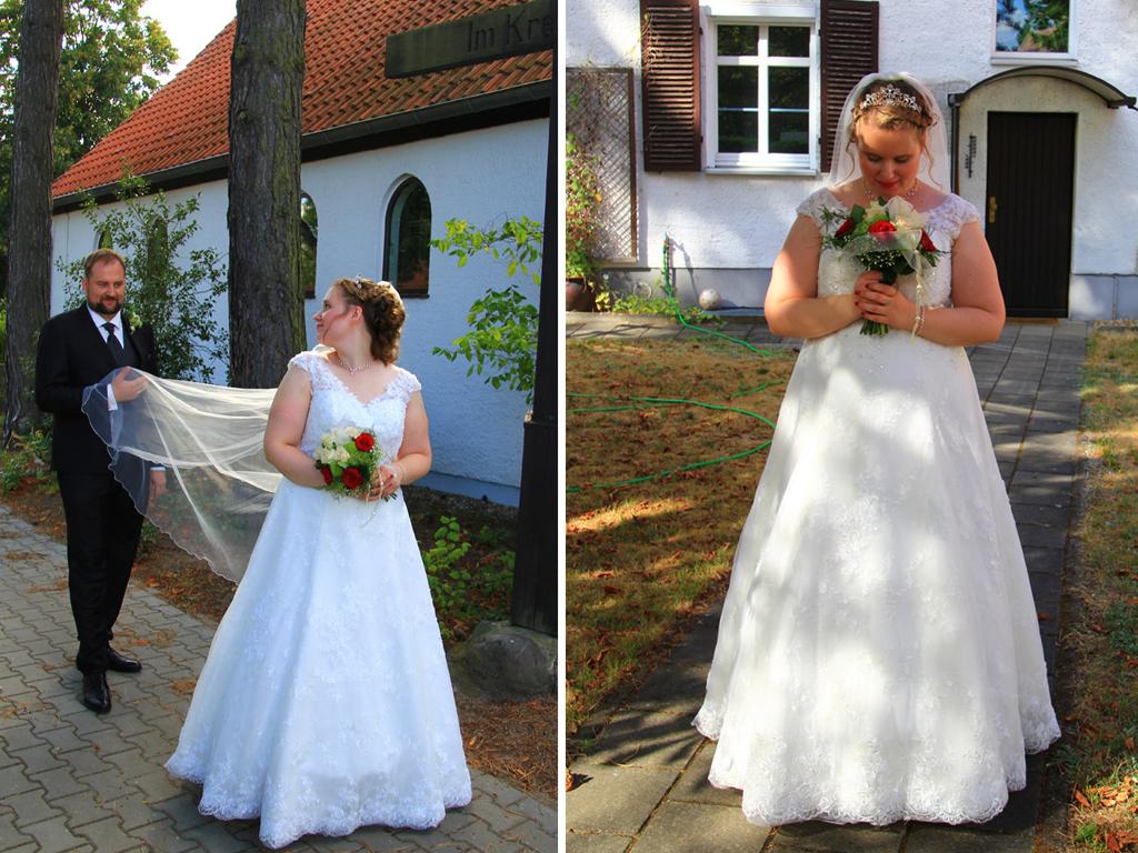 Miriam und ihr Traum Brautkleid