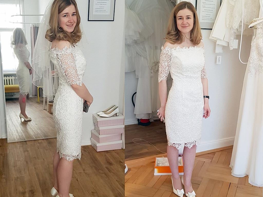 Ein Last-Minute Kleid für Ilana