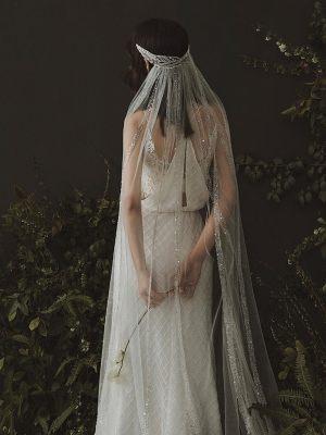 Couture Kopfschmuck mit Schleier