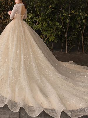Prinzessin Brautkleid für Plus Size
