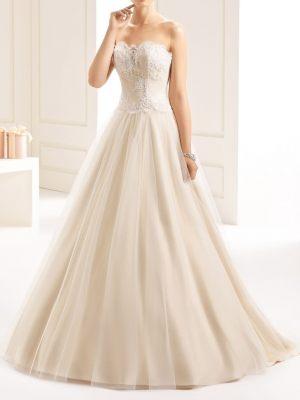 Brautkleid mit Korsage