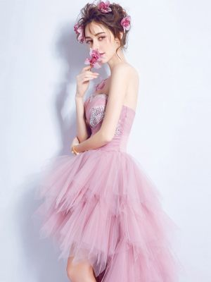 Süßes Vokuhilakleid in rosa