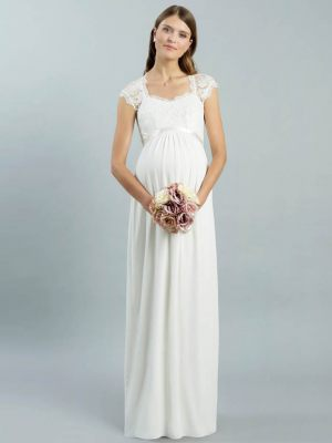 Empire Brautkleid