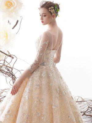 Princess Brautkleid mit Rückenschnürung