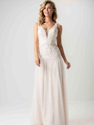 Brautkleid-Schmal