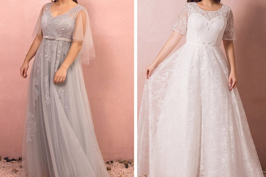 Schöne Brautmode für Curvy Brides
