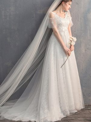Empire-Brautkleid