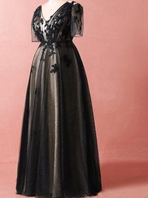 Schwarzes-Brautkleid