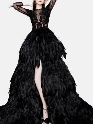 Gothic-Brautkleid