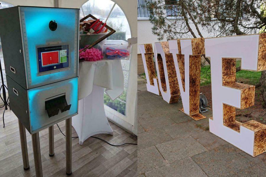 LED-Fotobox von Julia und Micha