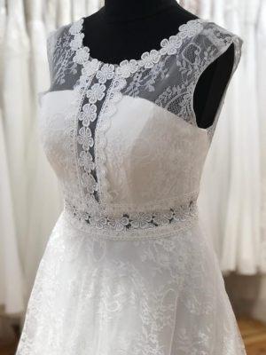 Brautkleid im Bohostyle