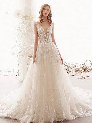 Brautkleid-Boho-Wedding