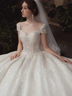 Prinzessin-Brautkleid