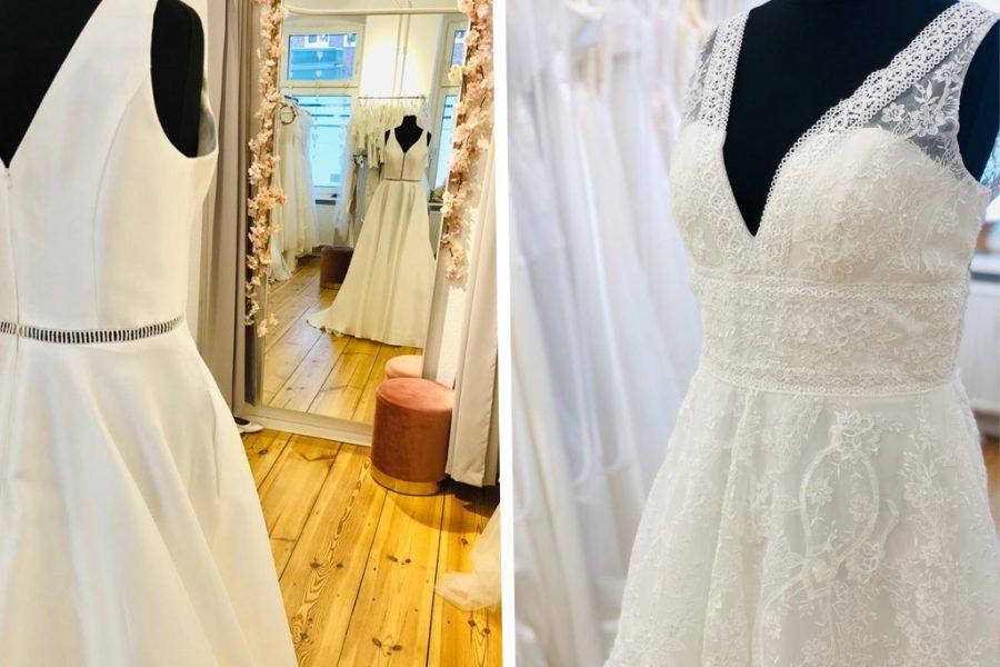 Brautkleider für Bräute mit großer Oberweite