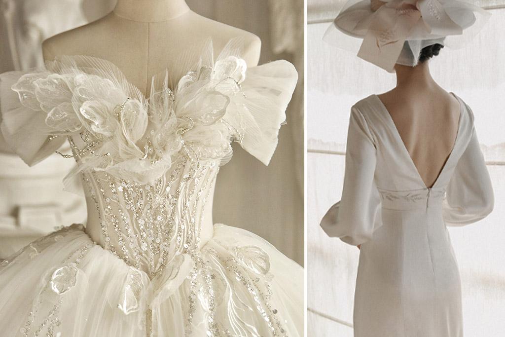 Brautkleideranprobe