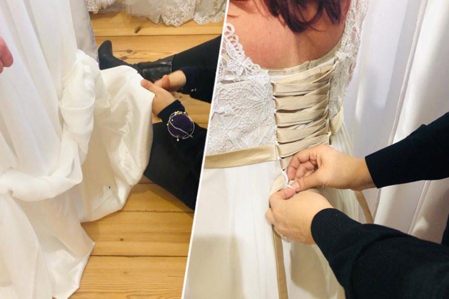 Alles Rund um das ändern lassen eines Brautkleides