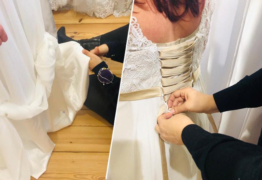 Brautkleid aenderung