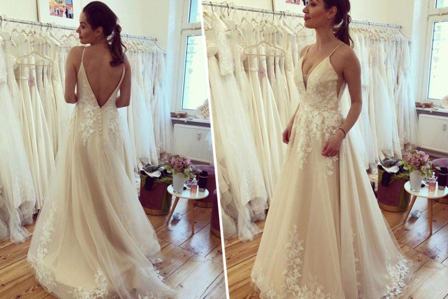 Brautkleider kaufen online oder offline?