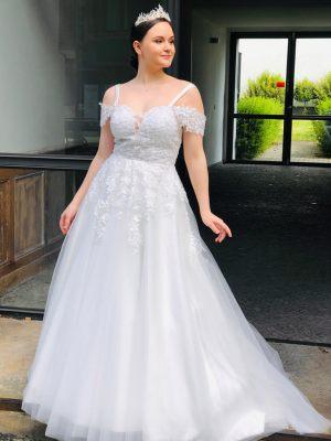 Prinzessinen-Brautkleid