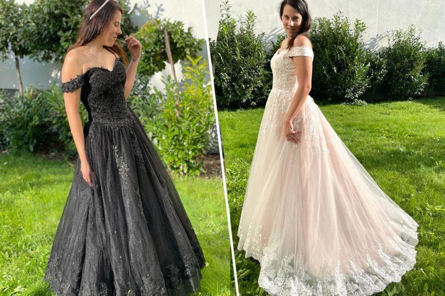 Farbige Brautkleider – heirate in Deiner Wunschfarbe!