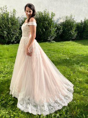 Prinzesin-Brautkleid